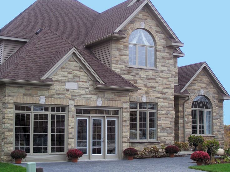 38 best images about exterior choices on pinterest for Exterior natural stone for houses