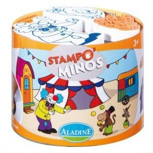Razítka StampoMinos - Cirkus, ALADINE