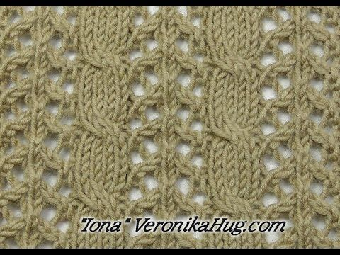 Stricken - Zopfmuster Iona - Veronika Hug - YouTube