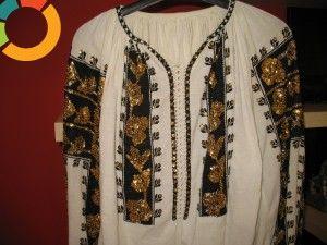 old romanian blouse
