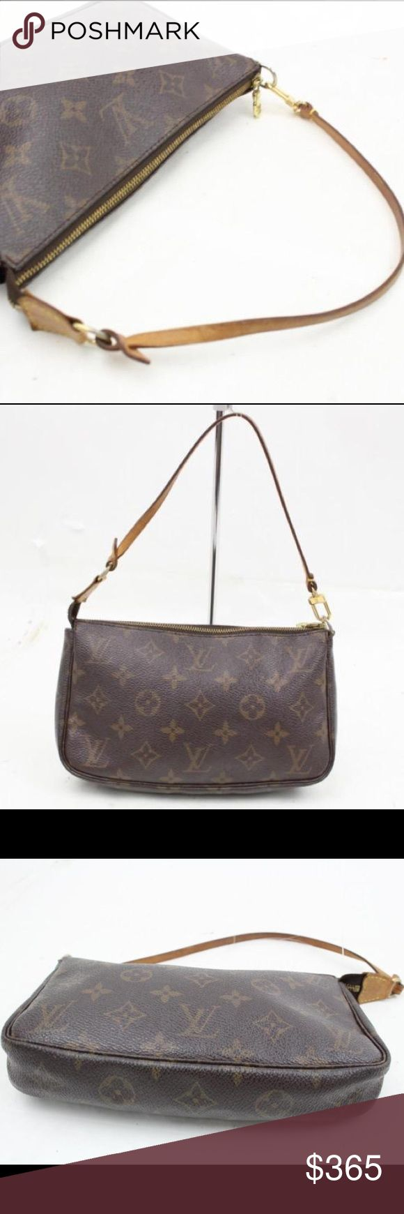 Authentic Louis Vuitton Pochette Monogram Purse Excellent condition. Made in France. Guaranteed Authentic. Louis Vuitton Bags Shoulder Bags