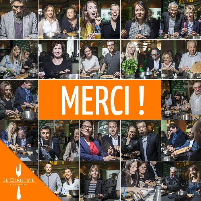 """Merci d'être venus nombreux au Palais Brongniart ce week-end pour """"The Place to BEER"""" et cuisiner avec nous !"""