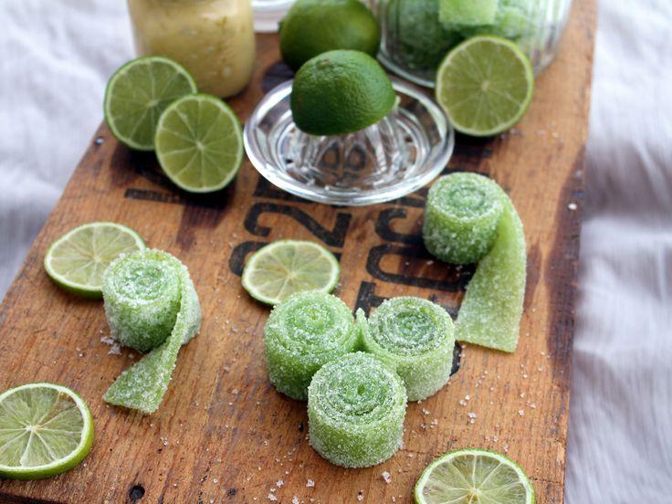 Syrliga limeremmar | Recept.nu
