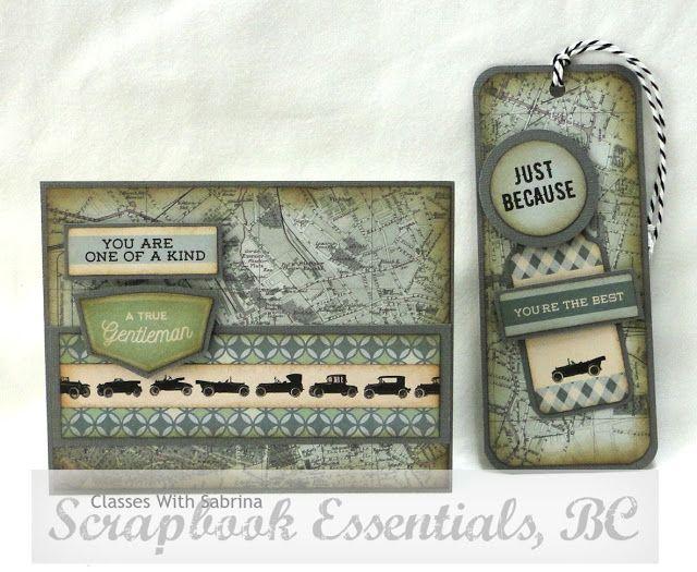 Aspiring to Creativity: Kaisercraft Barber Shoppe Masculine Cards & Tags Class