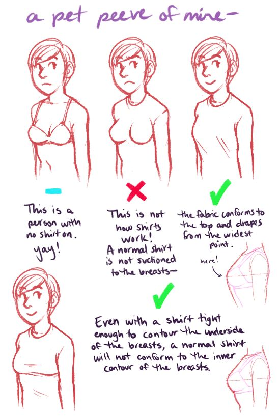serenity-fails: on the subjects of boobs and shirts and boobs in shirts #tutorial