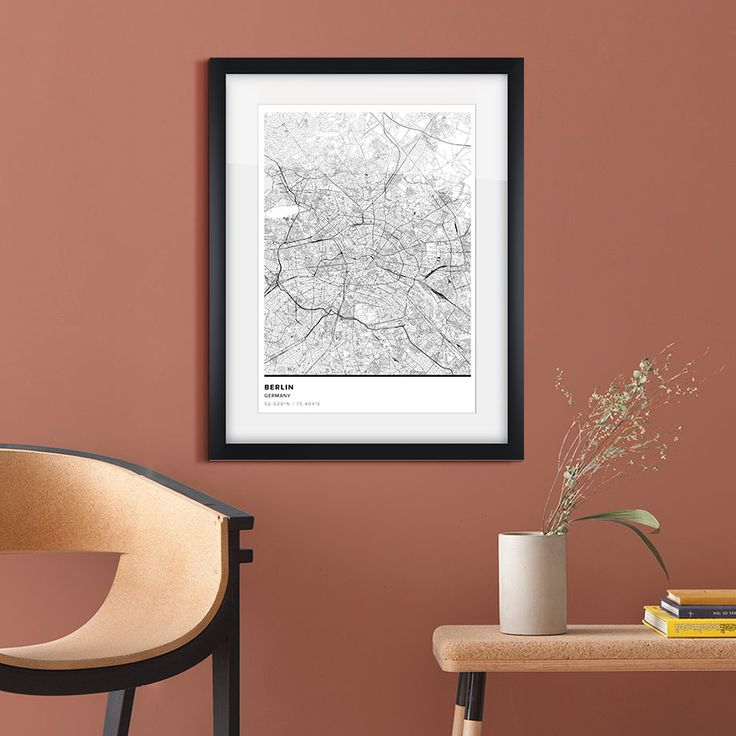 Urban Cartography in Filigree Lines