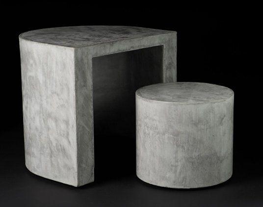 1000 Ideas About Concrete Furniture On Pinterest