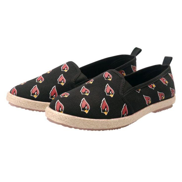 Amazon.com : NFL Team Logo Womens Canvas Espadrille Slip On Flats Shoes : Sports & Outdoors | @giftryapp