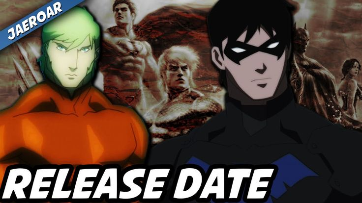 Justice League: Throne Of Atlantis - Release Date & Bonus Stuff!
