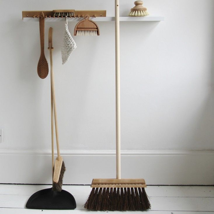 Ordinary utilitarian items, such as wastebaskets and scrub brushes, can—and should—be as pleasingly elegant as center-of-attention pieces.