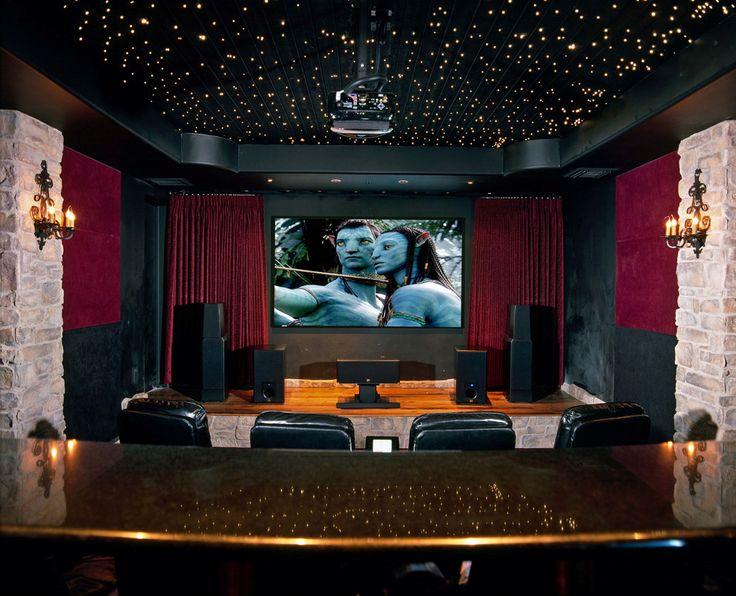 202 best home decor media room images on pinterest