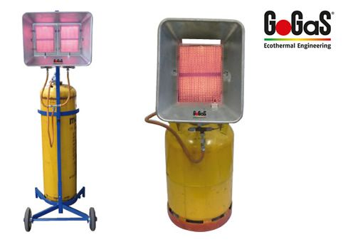 Mobile high intensity heaters with propane gas for flexible heat at your working place. For further informatioen visit www.gogas.com or www.hall-heating.com.