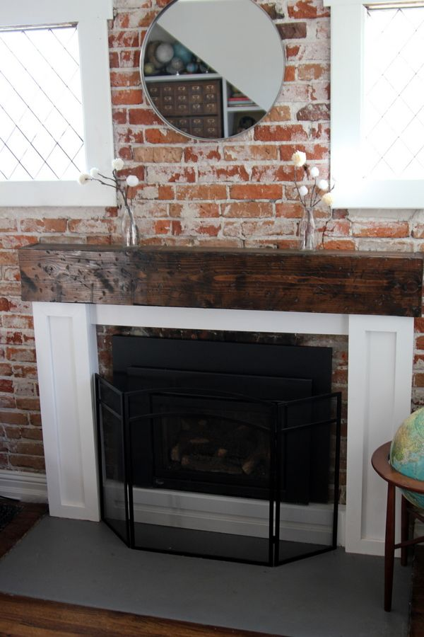 how to build your own fireplace mantel surround
