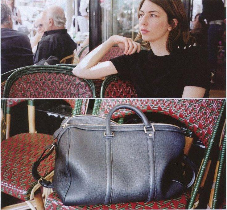 Louis Voitton Sofia Coppola bag.