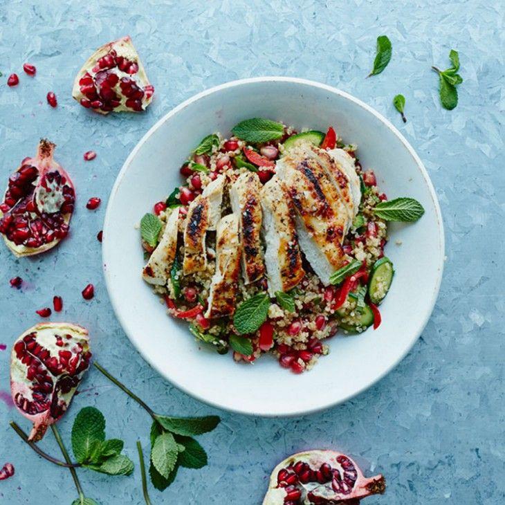 Fresh Chicken & Quinoa Salad