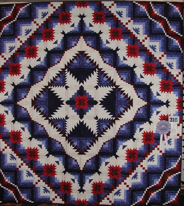 Quilts of valor | Share RECOLORING OF Eureka Quilt and pattern - by Jackie Robinson - Animas Quilts.
