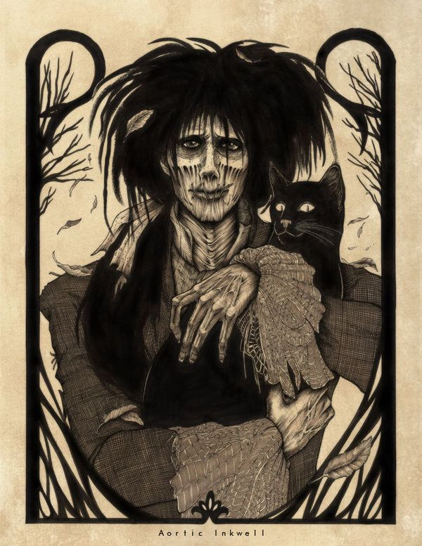 Billy Butcherson and Thackery Binx from Disney Hocus Pocus by Serrifth via Deviantart