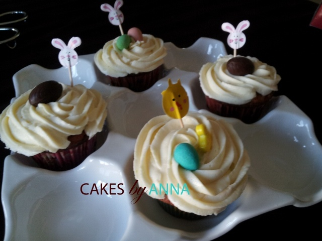Carrot Muffins with Cream Cheese Icing | Sweet as Sugar... | Pintere ...