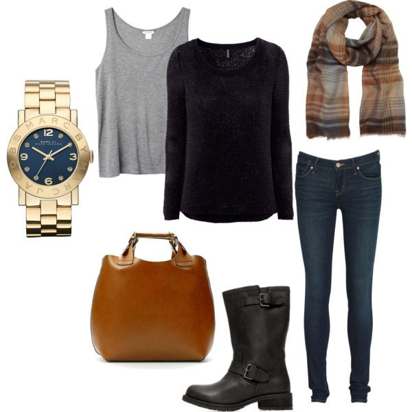 casual by jnsn on Polyvore featuring polyvore, fashion, style, H&M, Monki, Marc by Marc Jacobs, Zara and Mulberry