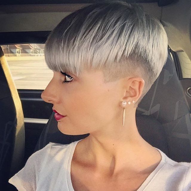 242 best images about hair mohawks sidecuts undercuts on pinterest pixiecut side shave and. Black Bedroom Furniture Sets. Home Design Ideas