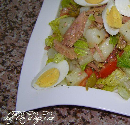 Frank Sinatra Salad Nicoise recipe