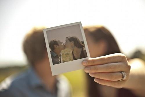 such a cute polaroid idea!