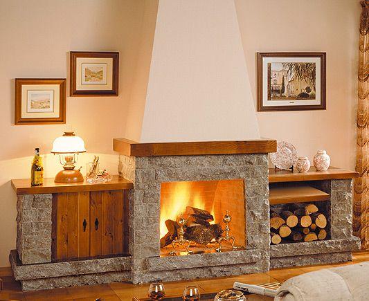 M s de 25 ideas incre bles sobre estufas de le a en pinterest decoraci n estufa de le a - Como disenar una chimenea de lena ...