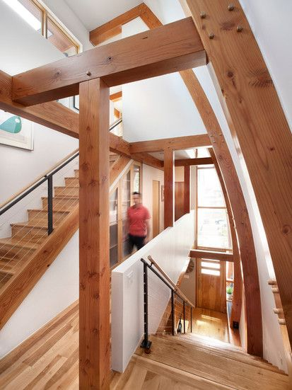 Lohi Private Residence, Contemporary Staircase, Denver