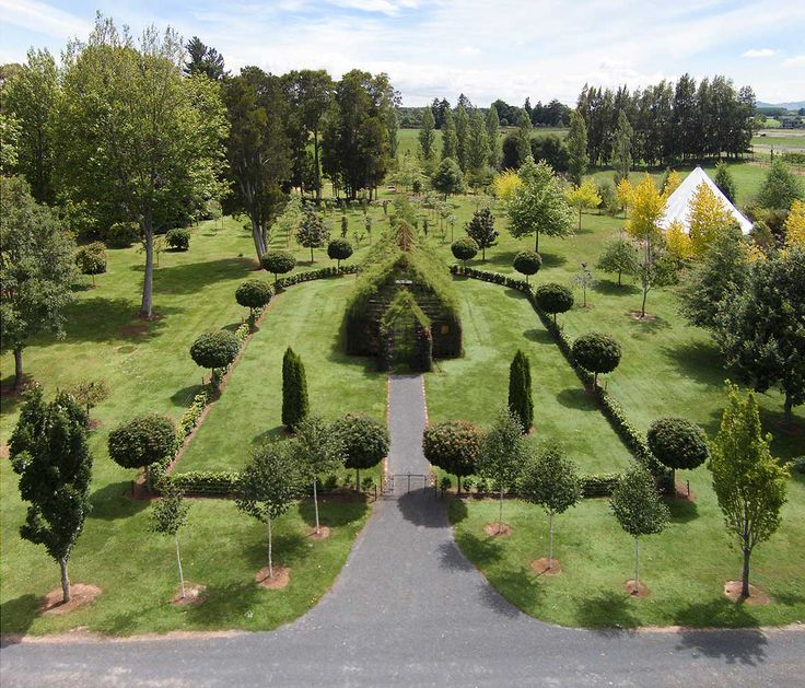 Tree Church & Labyrinth Walk in New Zealand by Barry Cox | Yellowtrace