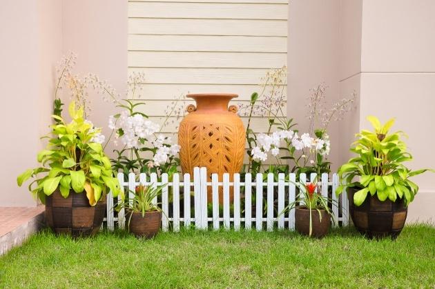 Decoracion de patios tinajas pinterest - Decoracion para patios ...