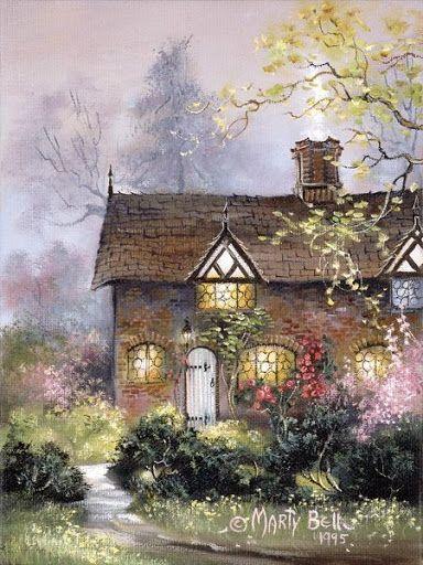 'Gatekeeper's House' ~ Marty Bell
