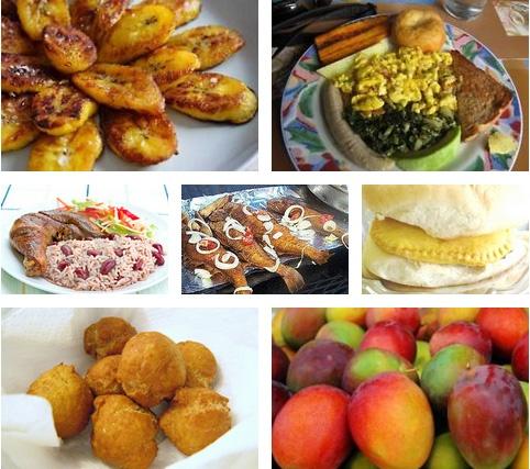 Jamaican food - YUM