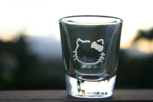 hello kitty SHOT GLASSES - Google Search