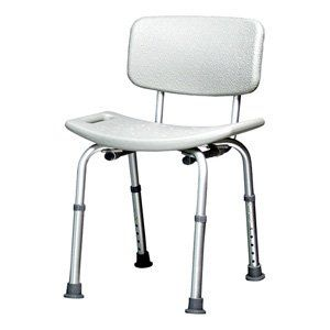 BATH SEAT W/BACK (CA) by GRAHAM FIELD. $200.00. Bath Seat with Backrest Anodized aluminum frame is lightweight, durable and rust-resistant. Seat height is adjustable in 1 inch increments. Comes assembled with tool-free back attachment.. Save 25% Off!