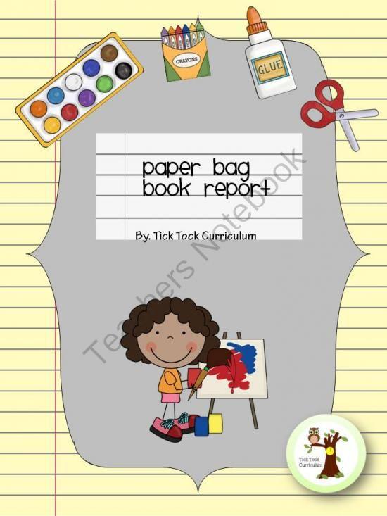 Paper Bag Book Reports