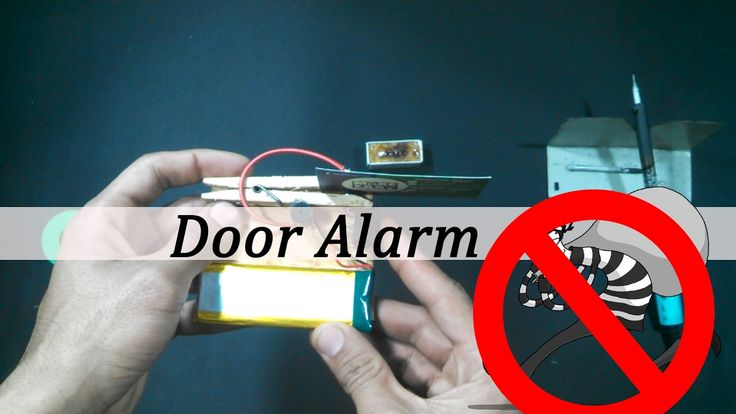 See it, Plan it, Build it, and Use it  Hello friends my name is Hassam. I hope you all are find and good this awesome video teach you DIY-How to Make a Simple Door Alarm           Our Requirements Material is  1)Cloth Clip 2)Small Screw 3)Glue  4)Switch  5)3,9v Battery 6)3,9v Buzzer 7) piece of wood  Hope you enjoy is video don't forget to subscribe for more new interesting videos   Please support your channel  Please click subscribe Button😇😇   How to check tv Remote control cells-Make…