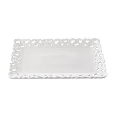 La Porcellana Bianca Valentino Large Tray