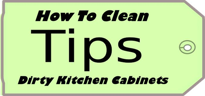 how to clean cabinets fast and easy