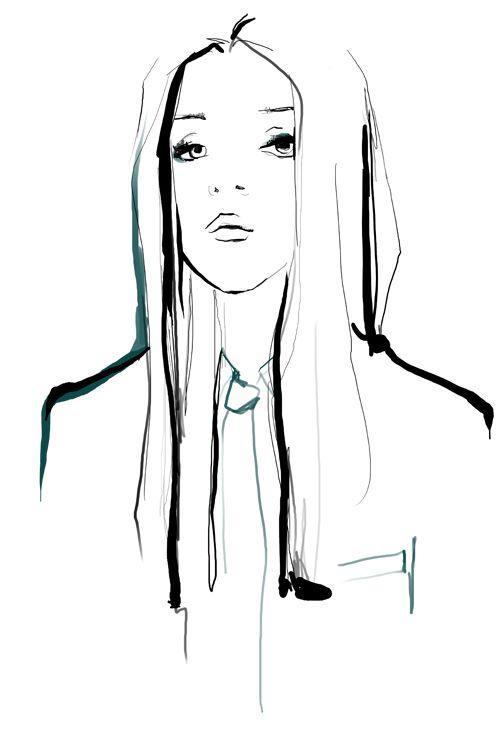 Garance Dore illustrations