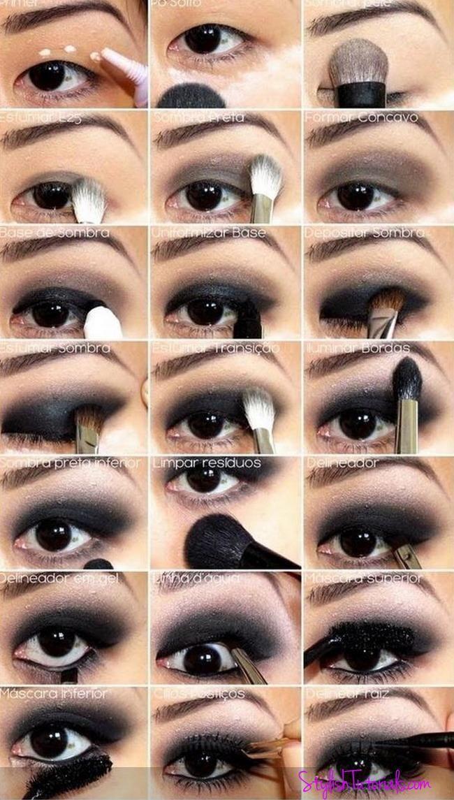 Top 10 erstaunliche Black Eye Makeup Tutorials