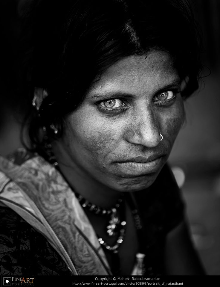 Portrait of Rajasthani