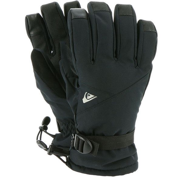 Quiksilver Men's Mission Gloves Black Misc Accessories (130 BRL) ❤ liked on Polyvore featuring men's fashion, men's accessories, men's gloves, black, mens waterproof gloves and mens gloves
