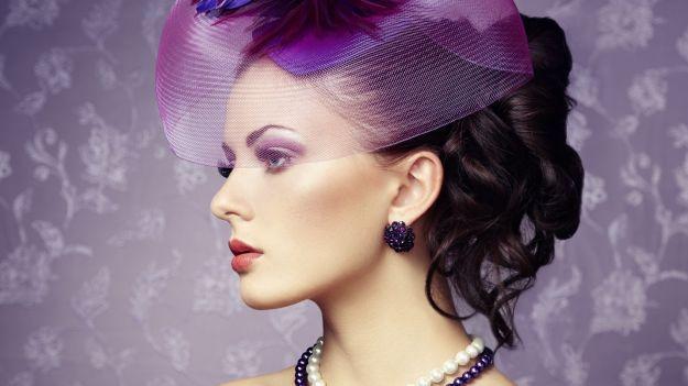 Изысканная вечерняя прическа с сеточкой ::: onelady.ru ::: #hair #hairs #hairstyle #hairstyles