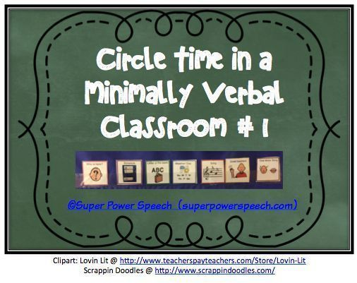 Wondering how SLPs and special educators can run a daily whole class circle time? Check out this post now or re-pin for later.