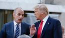 Trump lashes out at NBC News after Matt Lauer fired for 'inappropriate sexual behavior'