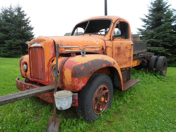 Old Mack Truck in Northern Maine