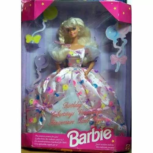 Barbie Feliz Cumpleaños Año 1996 Bunny Toys - $ 999,99