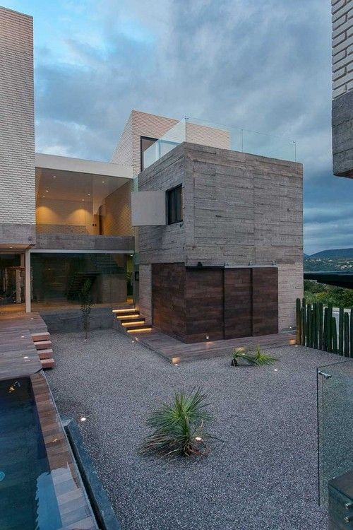 RMD Blog:  [mavarq] have designed a two-home complex located in the city of Tepeji del Rio, Hidalgo, a 45 minute drive from Mexico City.