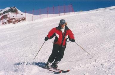Skiing in Queenstown