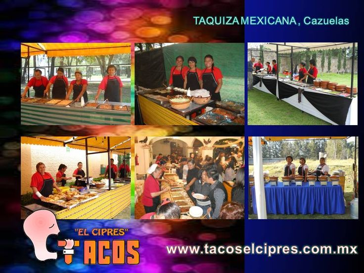 Las Taquizas de www.tacoselcipres.com.mx son por mucho muy diferentes a la mayoria que se encuentra en el mercado y tenemos garantìa por escritos . Gracias